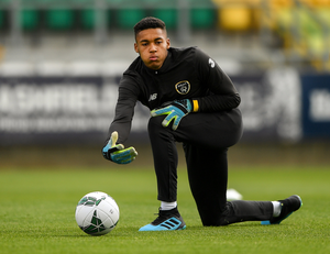 Gavin Bazunu has been included in Manchester City's Champions League squad
