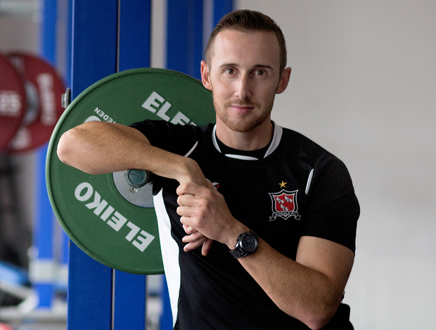 Graham Byrne has transformed Dundalk's physical fitness and, with it, the team's self-belief Photo: David Conachy
