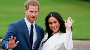Up close and personal: The new book about Prince Harry and Meghan Markle offers insight into the early stages of their romance, their struggles within the royal family and their relationships with those close to them. PHOTO: DANIEL LEAL-OLIVAS/Getty Images