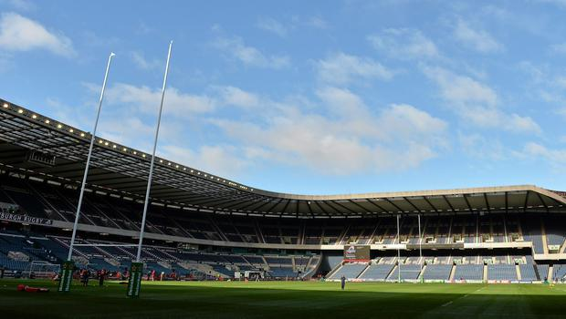 'Summer pro-rugby must be better than the almost unplayable conditions that faced Scotland and England at Murrayfield Stadium on Saturday.' (stock image)