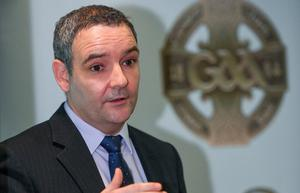 The GAA's director of games, club and player welfare Feargal McGill