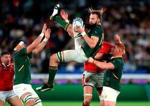 South Africa's RG Snyman