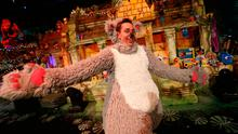 Ryan Tubridy pictured in the opening sequence of RTÉ The Late Late Toy Show 2016. Picture Andres Poveda