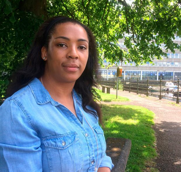 Donnah Vuma, (31), from Zimbabwe, and living in direct provision. Ms Vuma is one of 17 asylum seekers being awarded a third-level scholarship at University of Limerick.