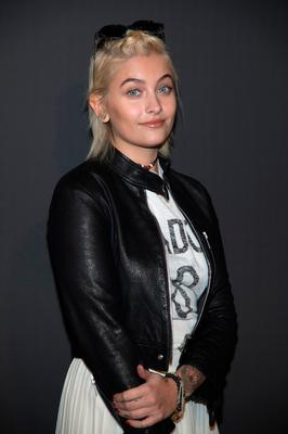 Paris Jackson attends the Dior Homme Menswear Fall/Winter 2017-2018 show as part of Paris Fashion Week on January 21, 2017 in Paris, France.  (Photo by Pascal Le Segretain/Getty Images)