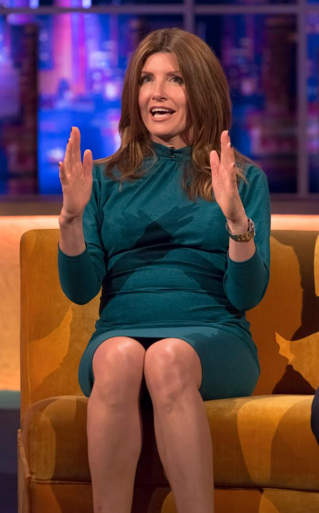 Sharon Horgan on The Johnathan Ross Show. Picture: ITV