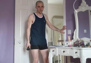 Tom Vaughan Lawlor as Nidge in Love/Hate - in bedroom of his Castleknock house