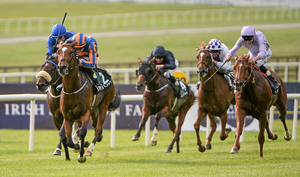 Gleneagles, trained by Aidan O'Neill, will feature in a weekend of exceptional activity at the Curragh