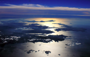 Co. Mayo's Coastline as seen from the North over Erris Head. Photo: Irish Air Corps.