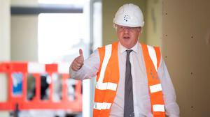 British PM Boris Johnson has insisted there will be a bridge between Northern Ireland and Britain. Photo: Matthew Horwood/PA Wire
