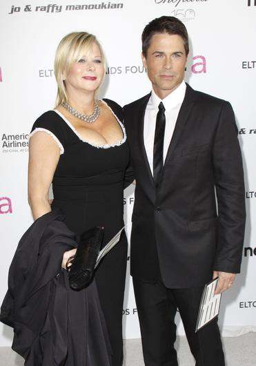 Sheryl Berkoff and Rob Lowe have been married since 1991 (PA)