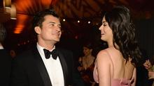 Orlando Bloom and Katy Perry attend The Weinstein Company and Netflix Golden Globe Party, presented with DeLeon Tequila, Laura Mercier, Lindt Chocolate, Marie Claire and Hearts On Fire at The Beverly Hilton Hotel on January 10, 2016 in Beverly Hills, California.  (Photo by Kevin Mazur/Getty Images for The Weinstein Company)