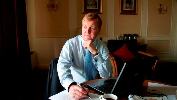 Former Liberal Democrat leader Charles Kennedy, who died aged 55. Photo: PA