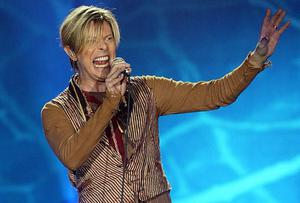 David Bowie, who was the subject of online abuse.