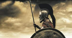 A scene from the film '300'. A modern-day Battle of Thermopylae is now set to be waged in Greece.