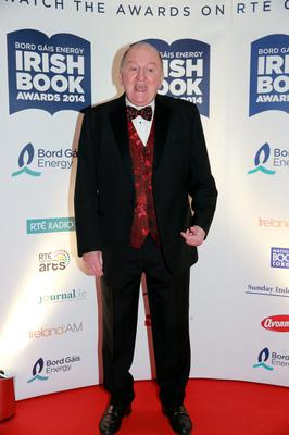 George Hook at the Bord Gais Energy Irish Book Awards at the Double Tree by Hilton Hotel in Dublin. Picture:Arthur Carron