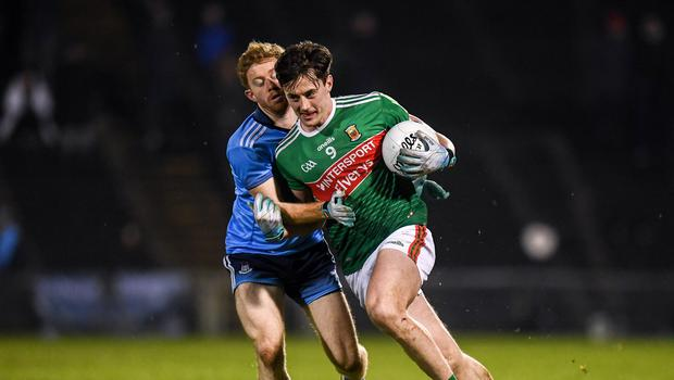 Dublin's unbeaten run against Mayo was extended to 16 games in Castlebar last Saturday night. Photo by Harry Murphy/Sportsfile