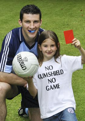 The Irish Dental Association launched a campaign back in 2007 to popularise gumshields with the slogan No Gumshield No Game