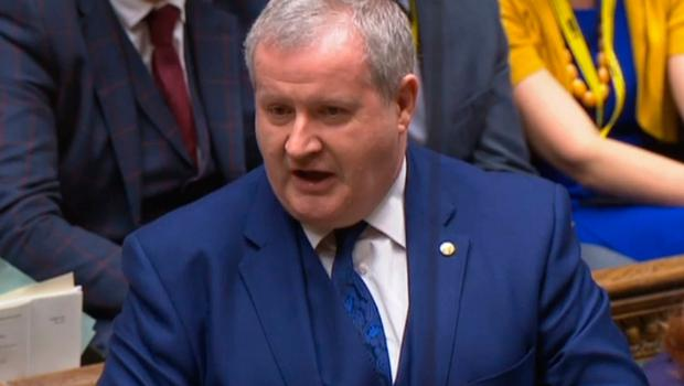 SNP Westminster leader Ian Blackford speaks at the conclusion of the debate ahead of a vote on the Prime Minister's Brexit deal  Photo credit: House of Commons/PA Wire