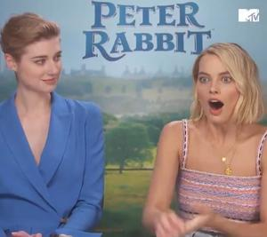 Margot Robbie's shock at being interviewed by her brother on MTV Australia