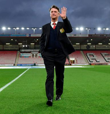 Louis van Gaal has been sacked as manager of Manchester United. Photo: Tony O'Brien/Action Images via Reuters