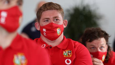 All seven Irish players will start for the Lions against Japan. Mandatory Credit ©INPHO/Billy Stickland
