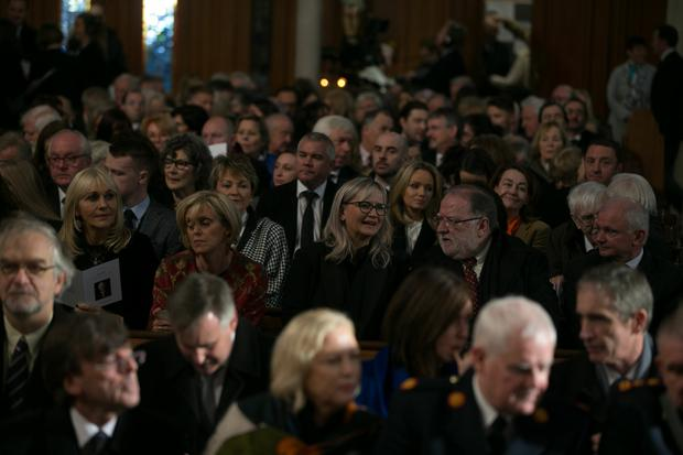 Funeral of Gay Byrne in St Mary's Pro-Cathedral Dublin November 8, 2019 Pictures by David Conachy