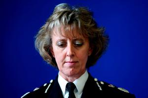 File photo dated 10/7/2010 of Northumbria Police Chief Constable Sue Sim, who has said she is pleased to have been cleared following an independent investigation after being accused of misconduct for being rude to staff. PRESS ASSOCIATION Photo. Issue date: Monday May 11, 2015. Ms Sim, who last month announced her retirement from Northumbria Police, has been told she had no case to answer following inquiries by a top barrister. The Police and Crime Commissioner Vera Baird ordered an investigation after senior officers complained about the way Ms Sim spoke to them. See PA story POLICE Chief. Photo credit should read: Chris Radburn/PA Wire