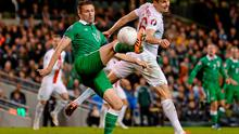 'The problem for Robbie Keane is that I don't think he can score in the system Ireland played last weekend and I think it's Ireland's most effective system.' Photo: Pat Murphy / SPORTSFILE
