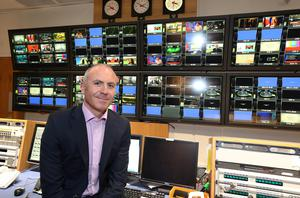 Glen Killane, MD of Television at RTE pictured at The Montrose Studios yesterday.