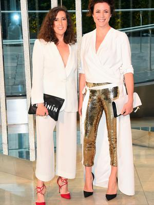 NEW YORK, NY - JUNE 01: (L-R) Clare Vivier and Garance Dor? attends the 2015 CFDA Fashion Awards at Alice Tully Hall at Lincoln Center on June 1, 2015 in New York City.  (Photo by Larry Busacca/Getty Images)