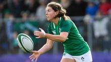 Ireland's Ellen Murphy is pictured during the Women's Six Nations win over Scotland at Energia Park in Donnybrook last Sunday. Photo: Ramsey Cardy/Sportsfile
