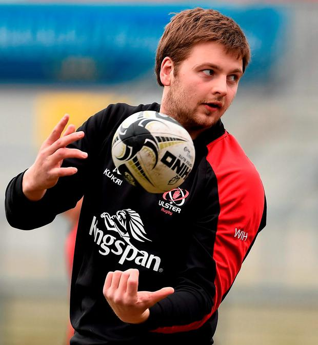 Negotiating their way to the play-offs won't be easy, but Henderson (pictured) says anything less than a place in the final four would be a failure Photo: Sportsfile