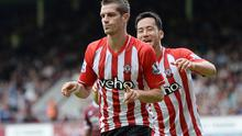 Midfield general: Morgan Schneiderlin's move to Manchester United is expected to be completed soon