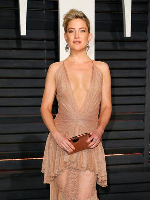Actress Kate Hudson at the Oscars Vanity Fair Party. REUTERS/Danny Moloshok