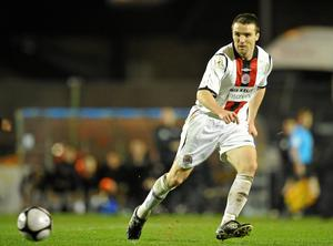 Brian Shelley in action for Bohemians where he won two of his three league titles. Photo: David Maher / Sportsfile