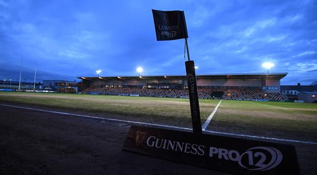 Rodney Parade, home of the Newport Gwent Dragons
