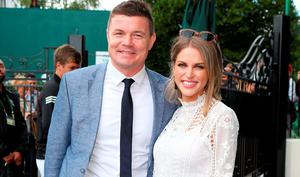 Brian O'Driscoll and Amy Huberman seem to enjoy a blissful relationship.