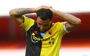 Watford's Troy Deeney. Photo: Reuters