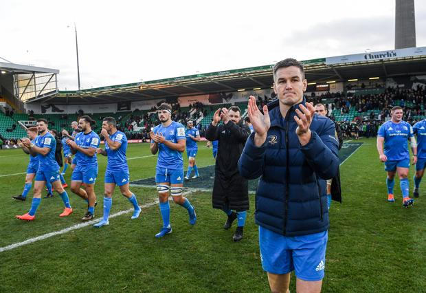 Johnny Sexton isn't likely to play for Leinster ahead of Ireland's Six Nations opener against Scotland on February 1. Photo by Ramsey Cardy/Sportsfile