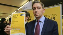 Measures: Health Minister Simon Harris has headed up the Government's response to the pandemic. Photo: Gerry Mooney
