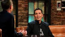 Ryan Tubridy interviews Christy Dignam on The Late Late Show   Pic: RTE One