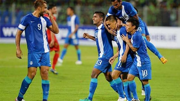 India and Guam are in Group D along with Oman, Iran and Turkmenistan for the preliminary league with the top two finishers progressing to the next phase of the competition. (Getty Images)