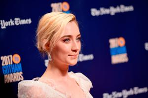 Actor Saoirse Ronan attends IFP's 27th Annual Gotham Independent Film Awards on November 27, 2017 in New York City.  (Photo by Dimitrios Kambouris/Getty Images for IFP)