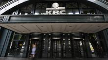 Management at KBC Group in Brussels has said it will formally communicate a decision on the future of its Irish operations at the same time they publish financial results for 2016. Photo: AFP