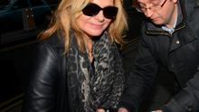 Actress Kim Cattrall arrives at the Merrion Hotel