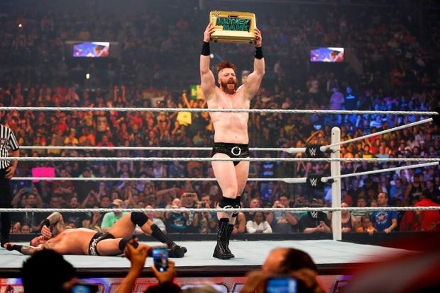 Sheamus at his fighting best. Photo: Getty