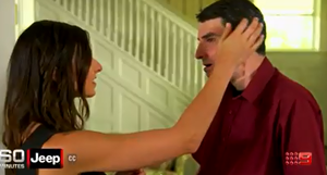 Rebekah Aversano and Richard Norris meet for the first time
