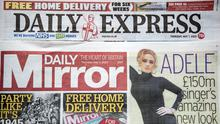 Around 550 jobs are being axed at Daily Mirror and Daily Express newspaper publisher Reach as part of plans to slash costs (Peter Byrne/PA)