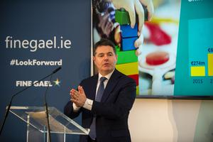 Finance Minister Paschal Donohoe. Photo: Douglas O'Connor